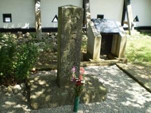 おとめ桜の碑
